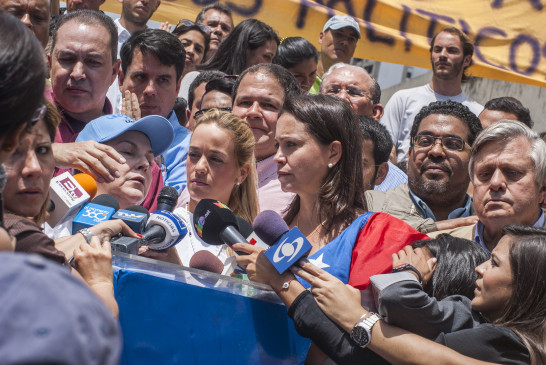 En la plaza Brion de Chacaito exigen libertad para Antonio Ledezma