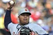 Bruce Rondón se quiere ganar su puesto con los Tigres