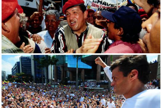 Chávez político preso, López preso político