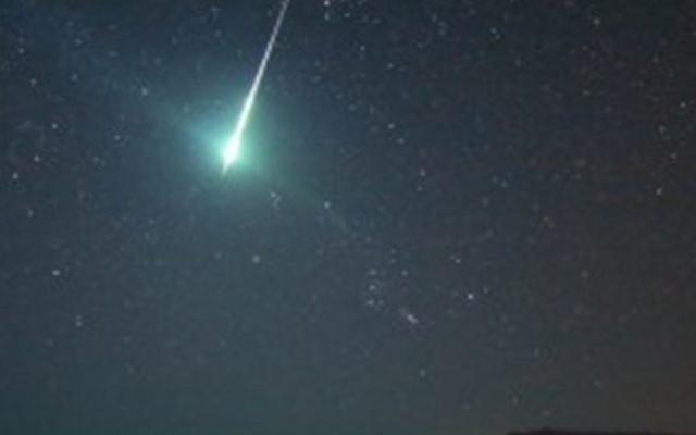 Reportan posible impacto de meteorito en Europa (VIDEO)