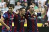 Barcelona se impuso ante el derbi catalán con goles de Neymar y Messi