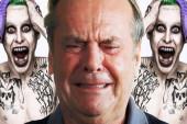 La reacción de Jack Nicholson al ver al nuevo Guasón (+Video)