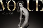 Gisele Bündchen celebra su retiro de las pasarelas con un desnudo para Vogue