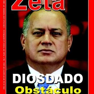 Revista Zeta sobre Diosdado