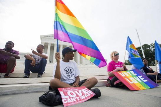 EE UU hace historia al convertir el matrimonio homosexual en un derecho