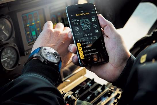 Breitling incursiona en territorio de relojes inteligentes gon El B55