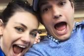 ¡Mila Kunis y Ashton Kutcher tendrán gemelos!