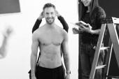Calvin Harris muestra su lado más hot (+Fotos)