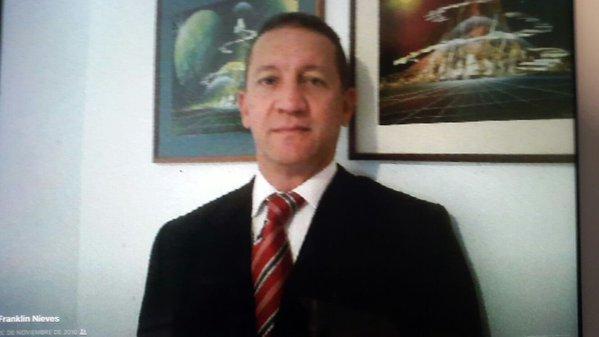 Fiscal Fiscal Franklin Nieves se entrega a autoridades federales de EEUU