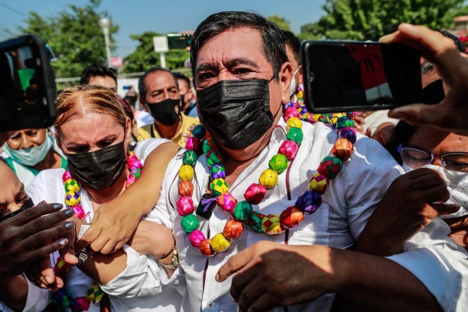 Candidato inhabilitado amenaza con detener las elecciones en Guerrero