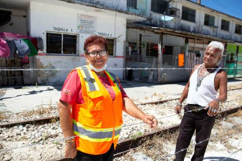 Los activistas se enfrentarán al ejército en sus esfuerzos por descarrilar el Tren Maya