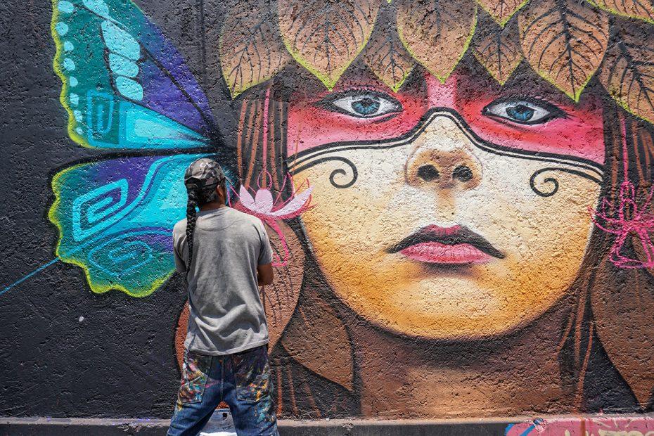 proyecto del mural