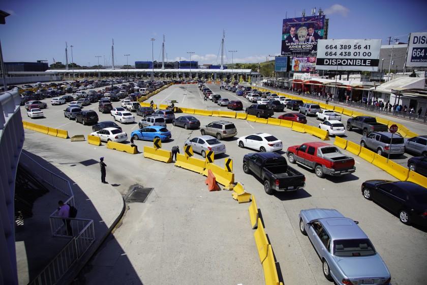 Restricciones a los viajes de ida y vuelta desde México