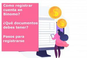 binomo como registrar una cuenta