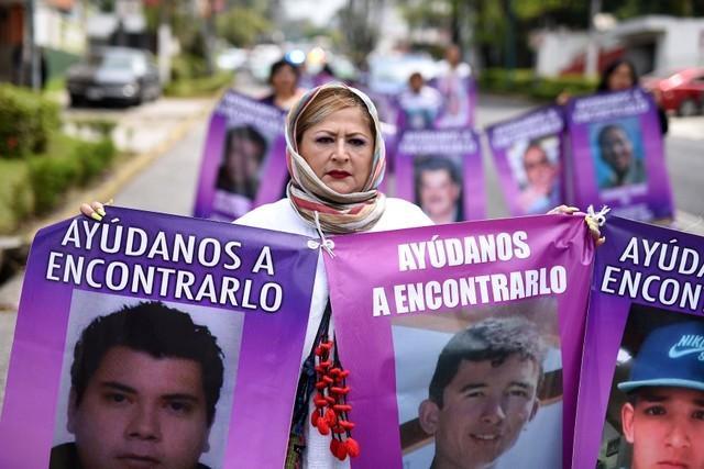 madres desaparecidos
