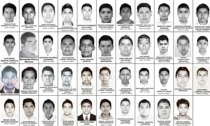 estudiantes desaparecidos en guerrero