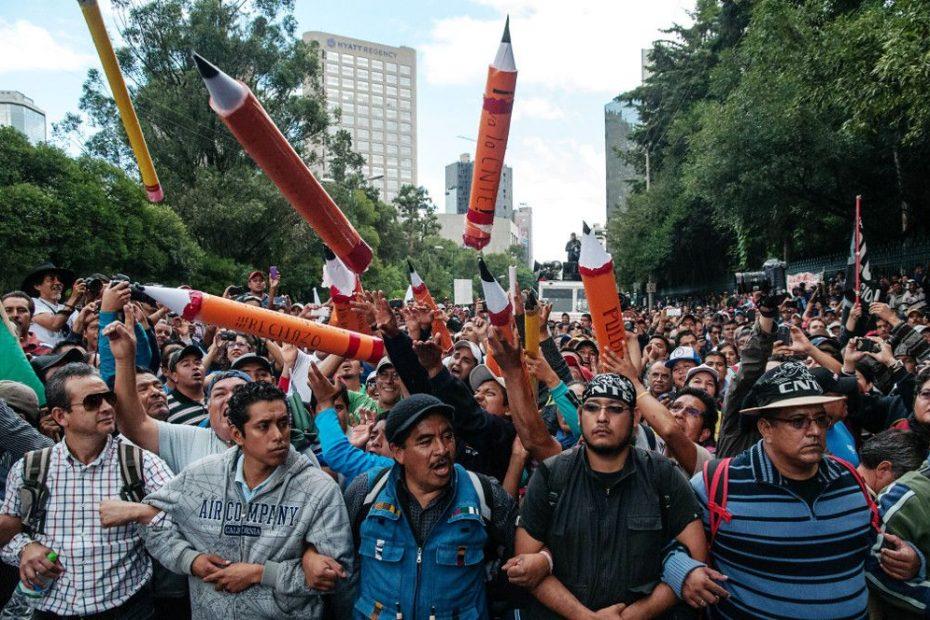 sindicato de maestros continúa con sus esfuerzos para persuadir a AMLO de entablar conversaciones